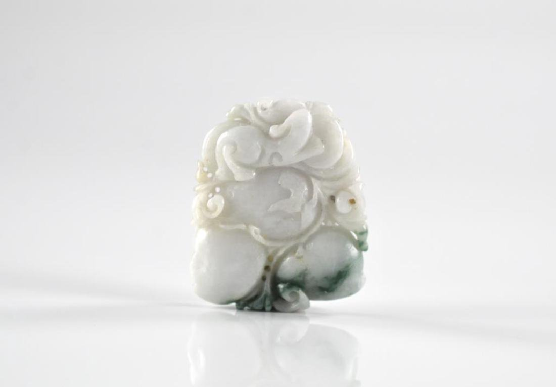 CHINESE CARVED JADE PENDANT - 3