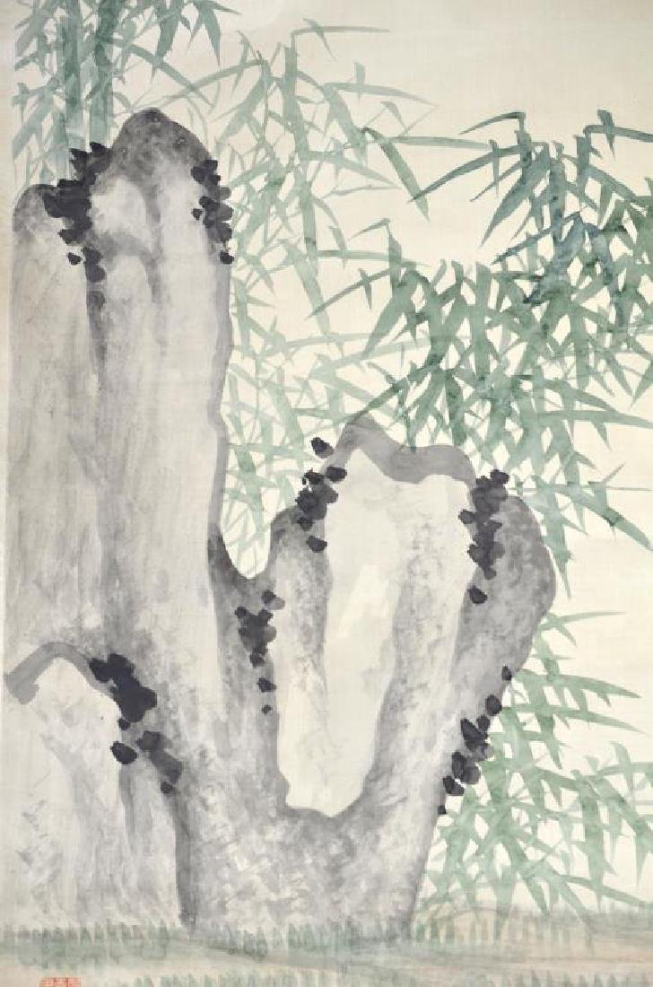 MEI ZHENYING BAMBOO AND ROCK PAINTING - 3