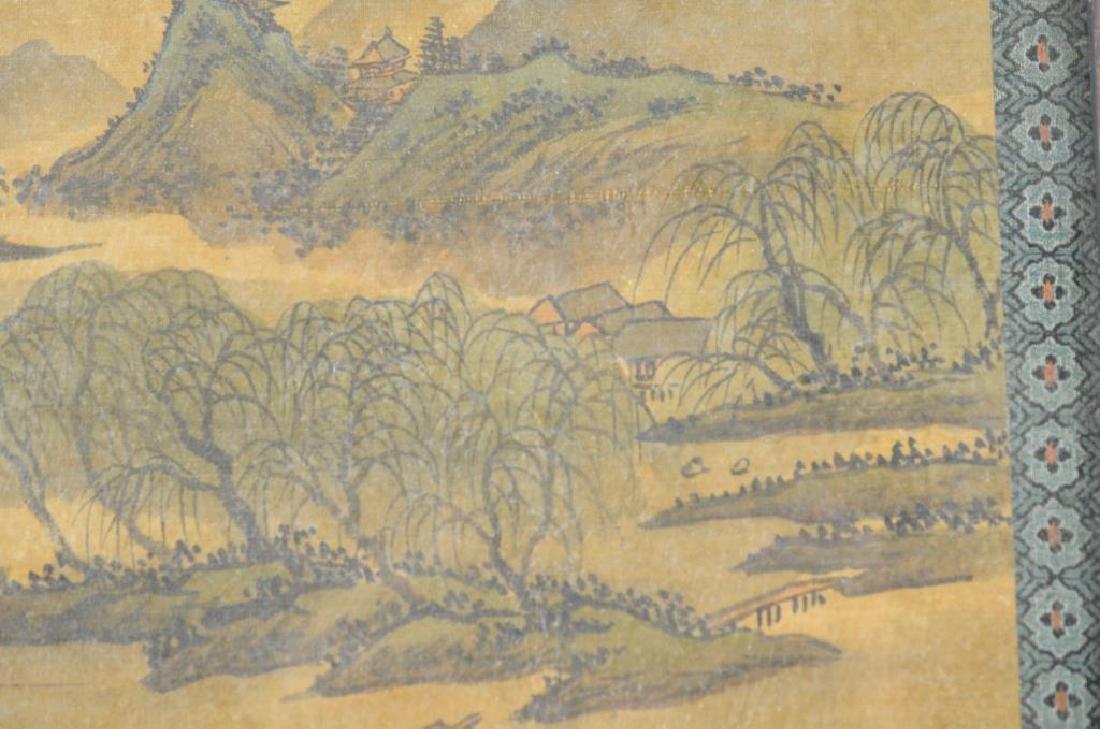 FANG SHIZHE (1692-1751) TWO LANDSCAPE PAINTINGS - 5