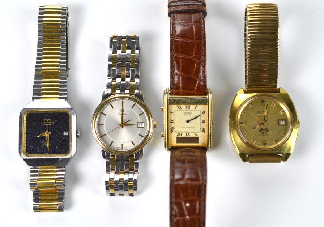 Four men's wristwatches - 2
