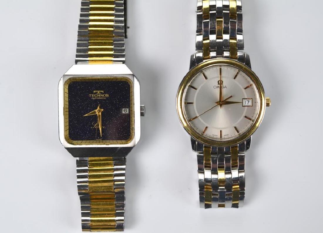 Four men's wristwatches - 3
