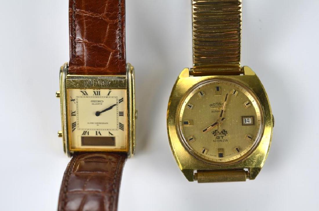 Four men's wristwatches - 4
