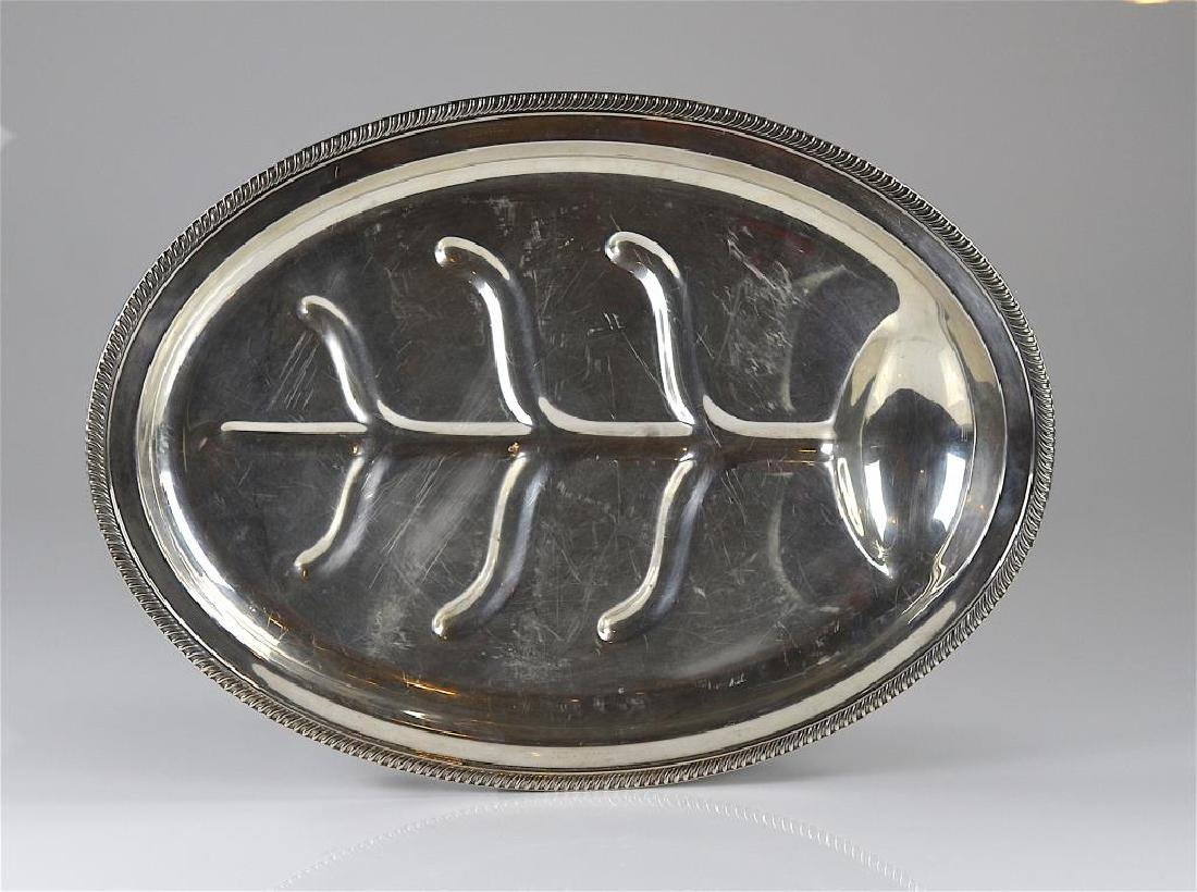 Fisher Silversmiths Inc. Kent oval platter