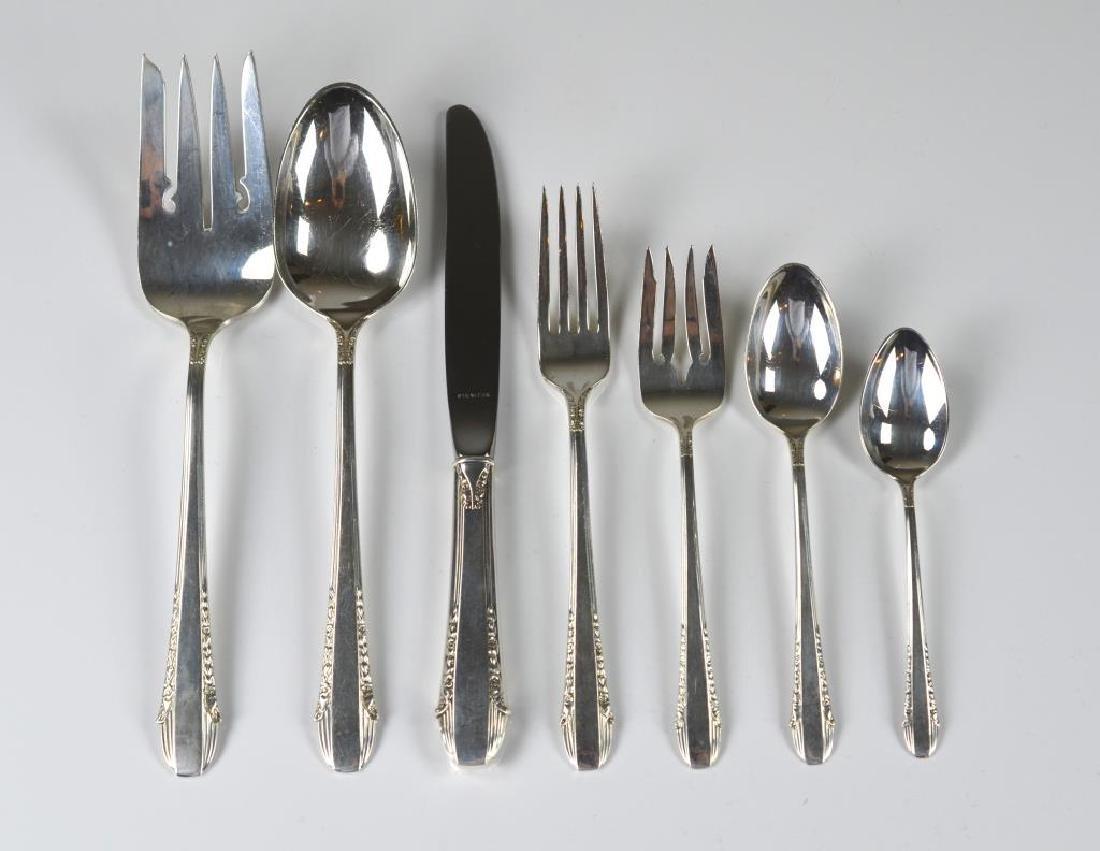 54 pcs International Enchantress silver flatware
