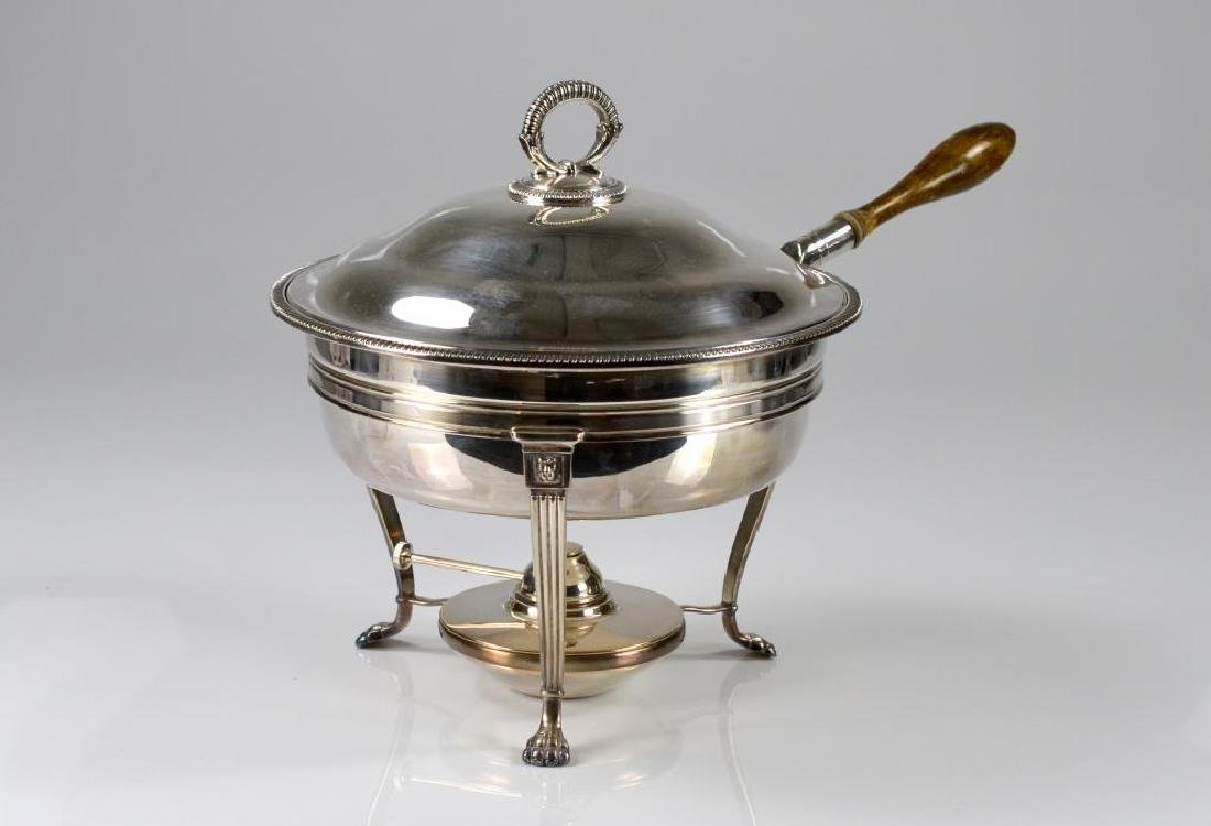Birks silver plated chafing dish