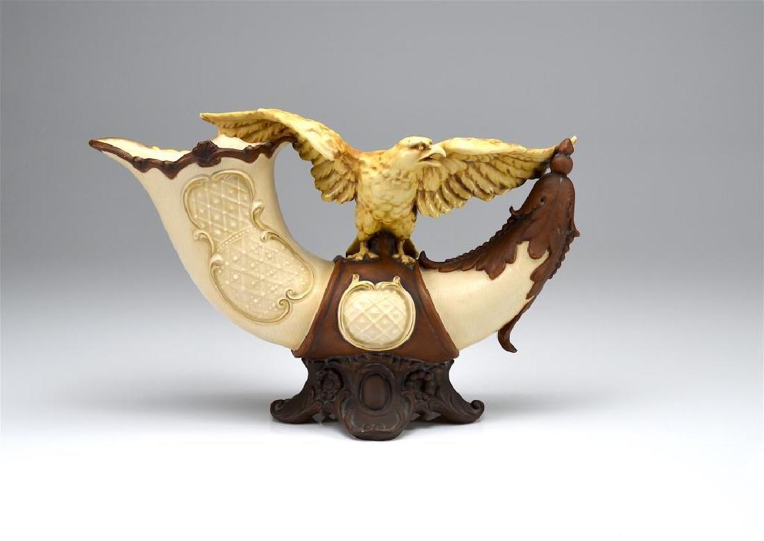 Austrian Art Nouveau porcelain centerpiece