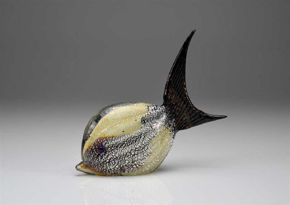 Formia murano glass fish