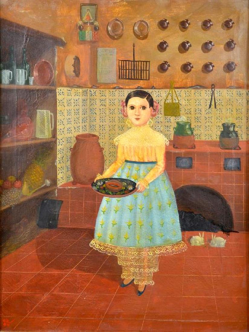 MEXICAN FOLK PAINTING