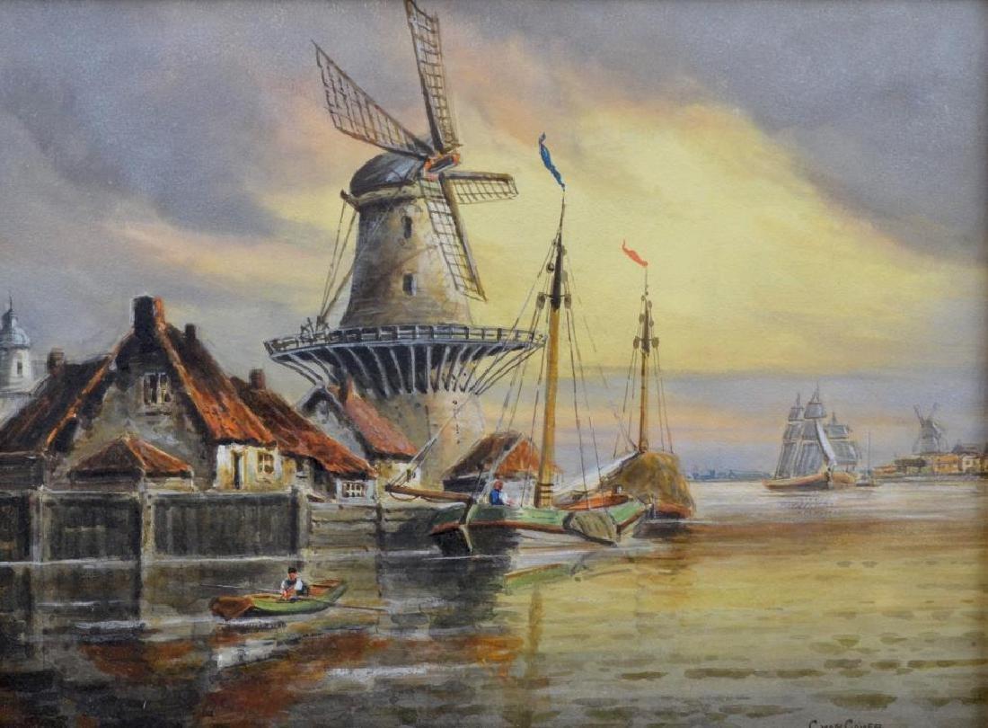 VAN COVER (Dutch School, 19th/20th C)