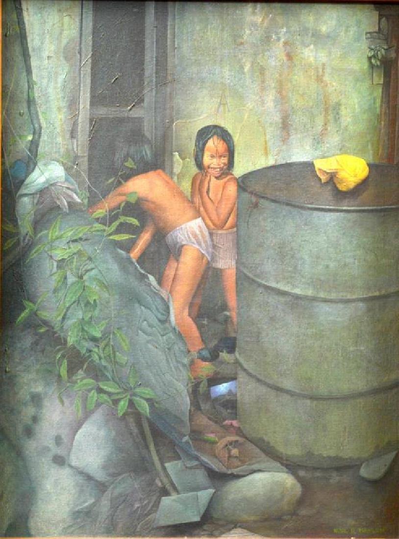 NOEL MAHILUM (Filipino, 20th C)