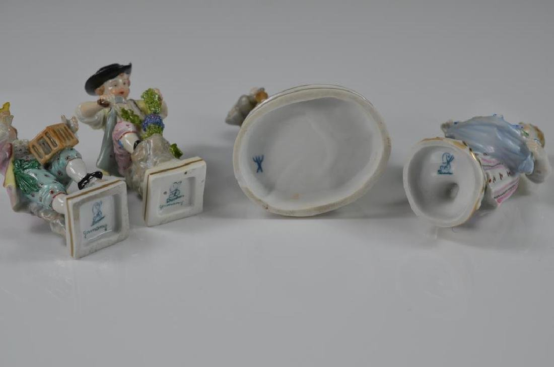 Four various German porcelain figurines - 2