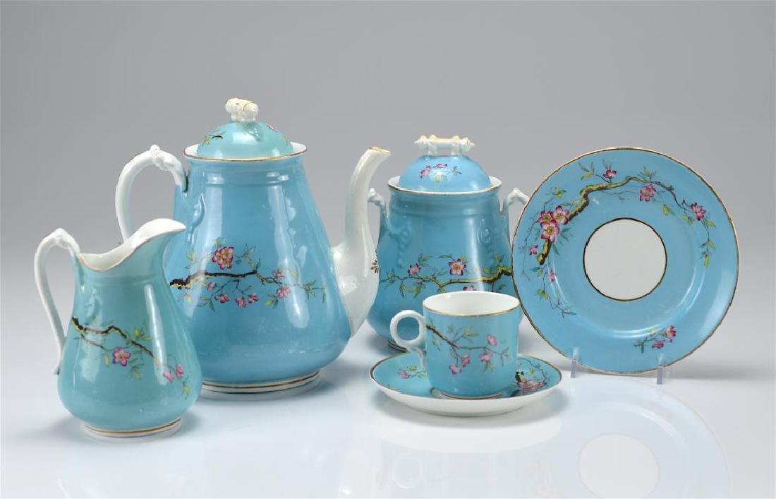 Aesthetic Movement porcelain tea set