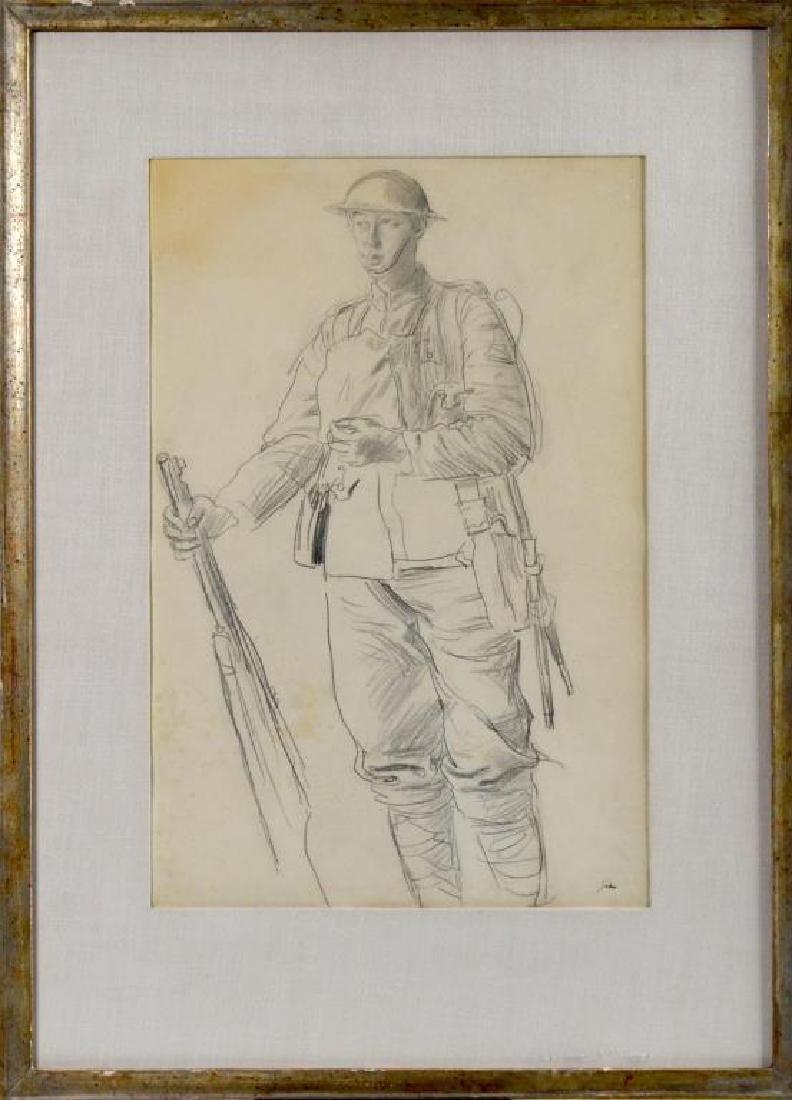 AUGUSTUS EAUGUSTUS EDWIN JOHN (British, 1878-1961)