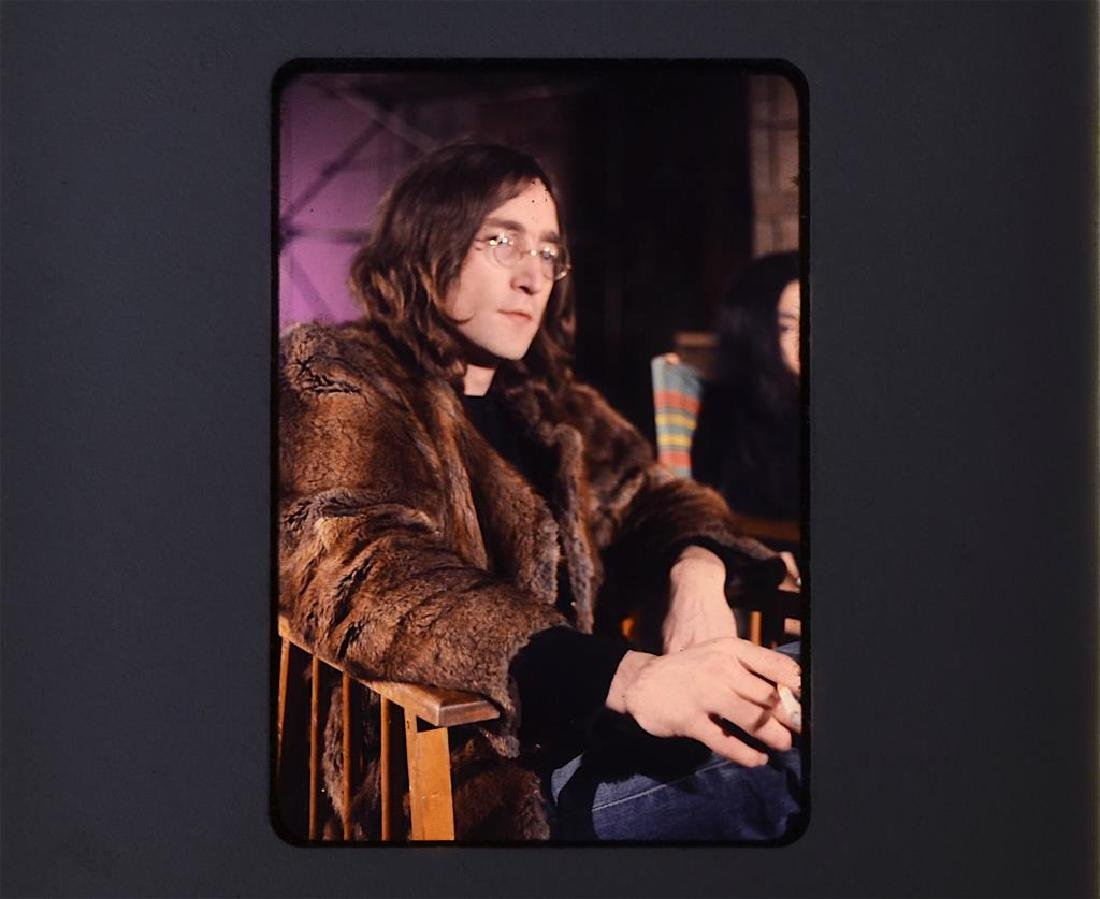 Private Photo Slides of John Lennon & Yoko Ono