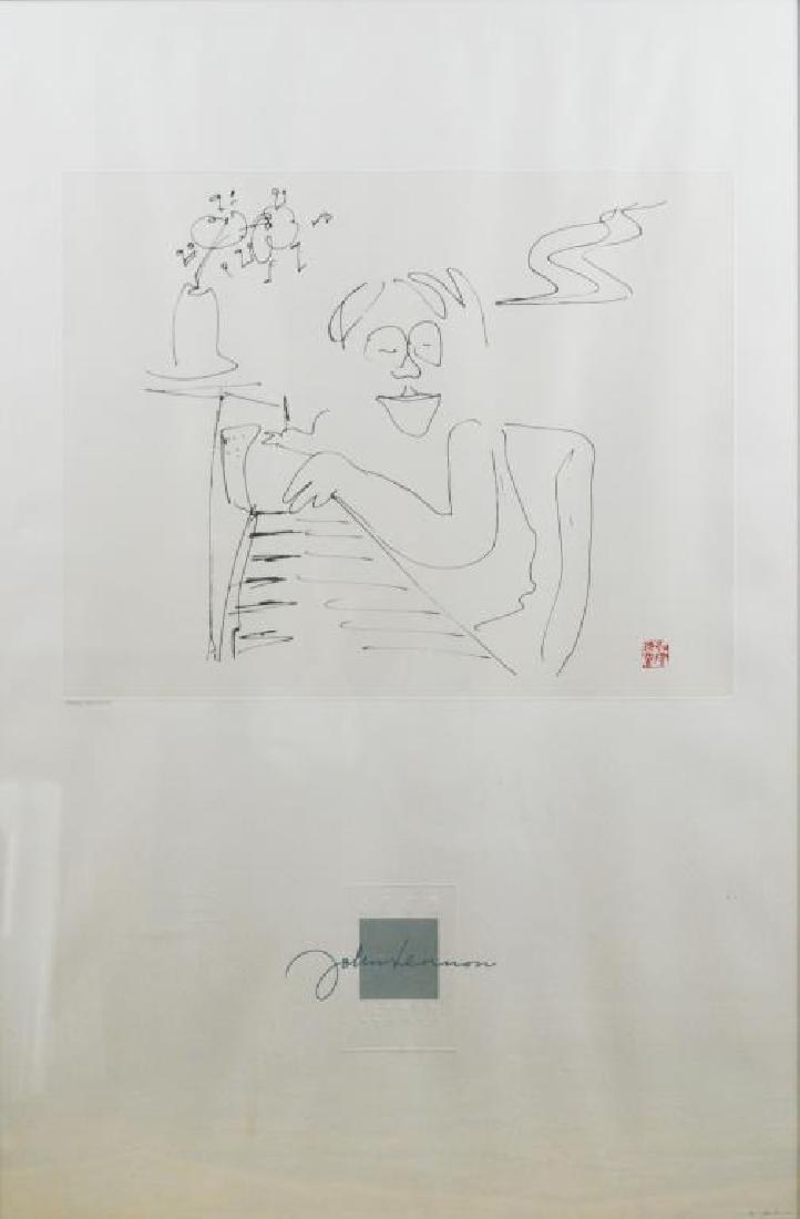 JOHN LENNON (British, 1940-1980)