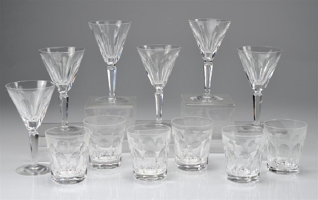 Twelve Waterford Sheila glasses