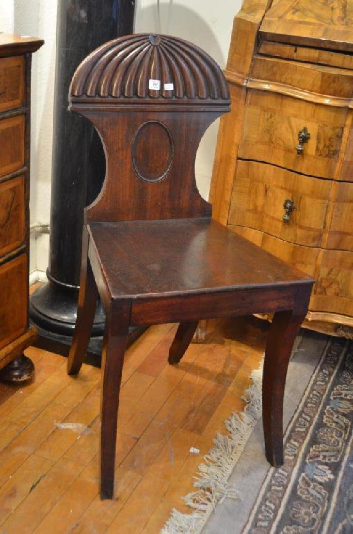 Georgian mahogany side chair