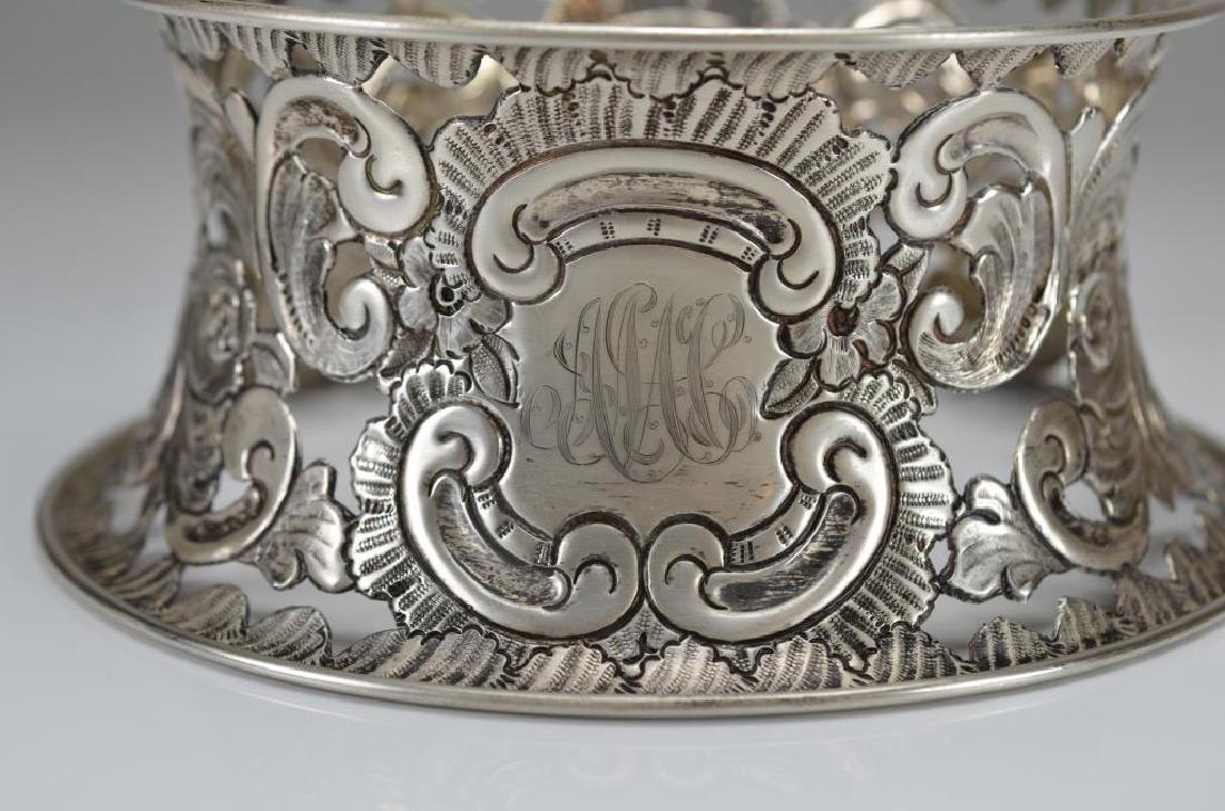 English silver dish ring - 2