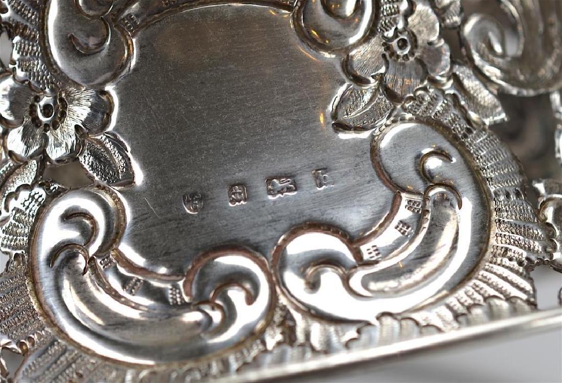 English silver dish ring - 3