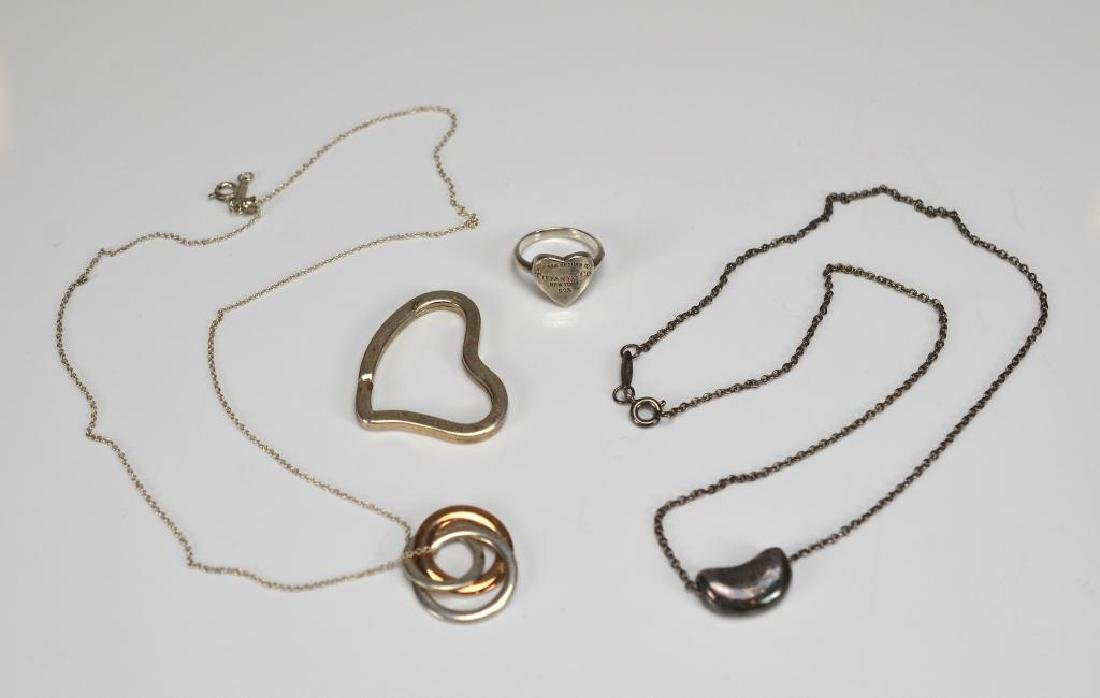 Lot of silver jewellery marked Tiffany