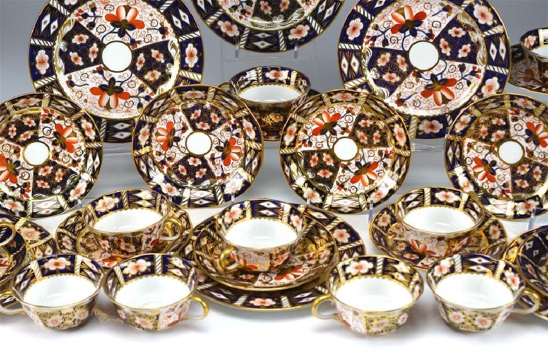 Royal Crown Derby Imari 2451 cups & saucers - 2
