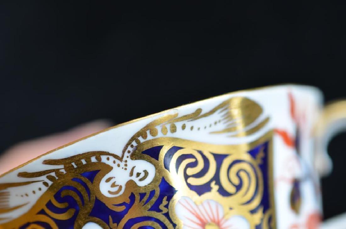 Royal Crown Derby Imari 2451 cups & saucers - 7