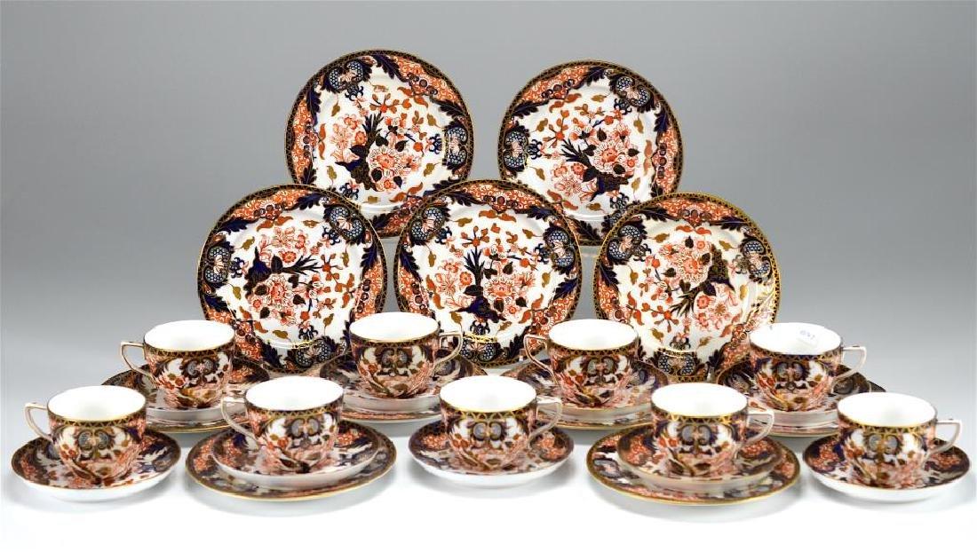 Royal Crown Derby Kings pattern part tea service