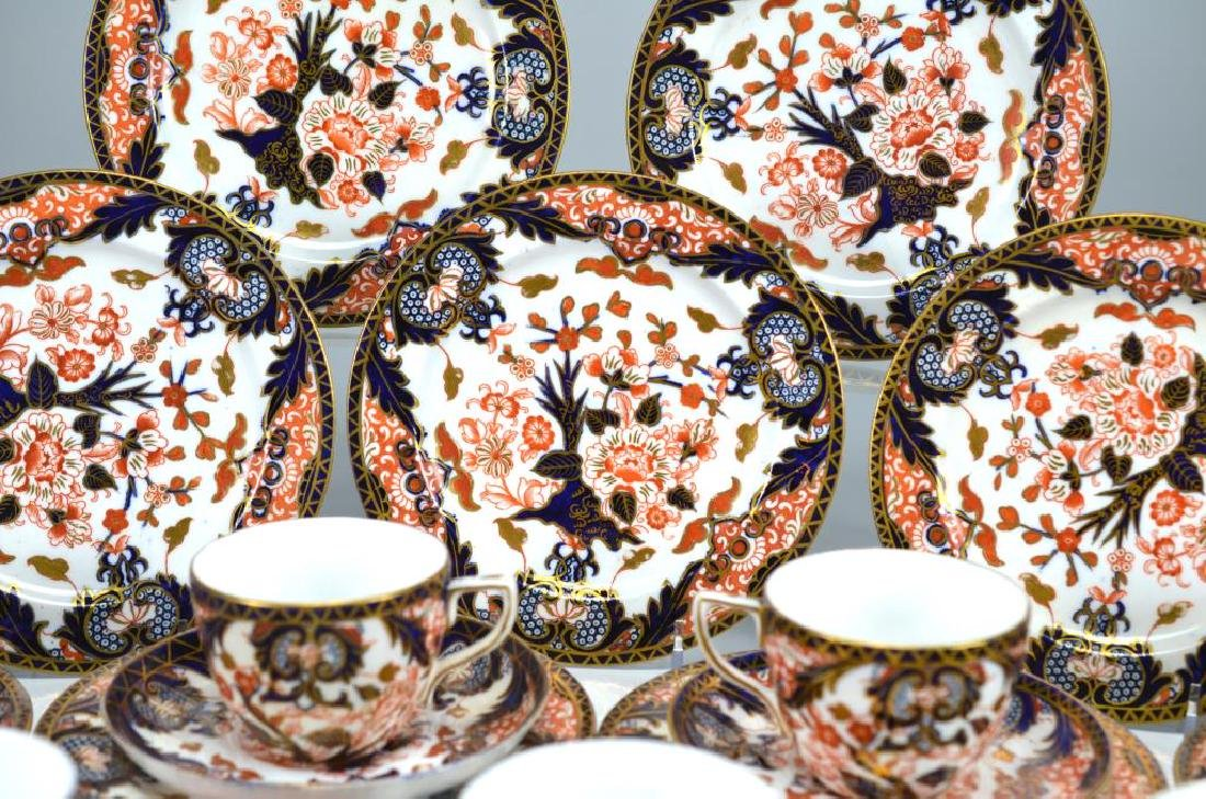 Royal Crown Derby Kings pattern part tea service - 3