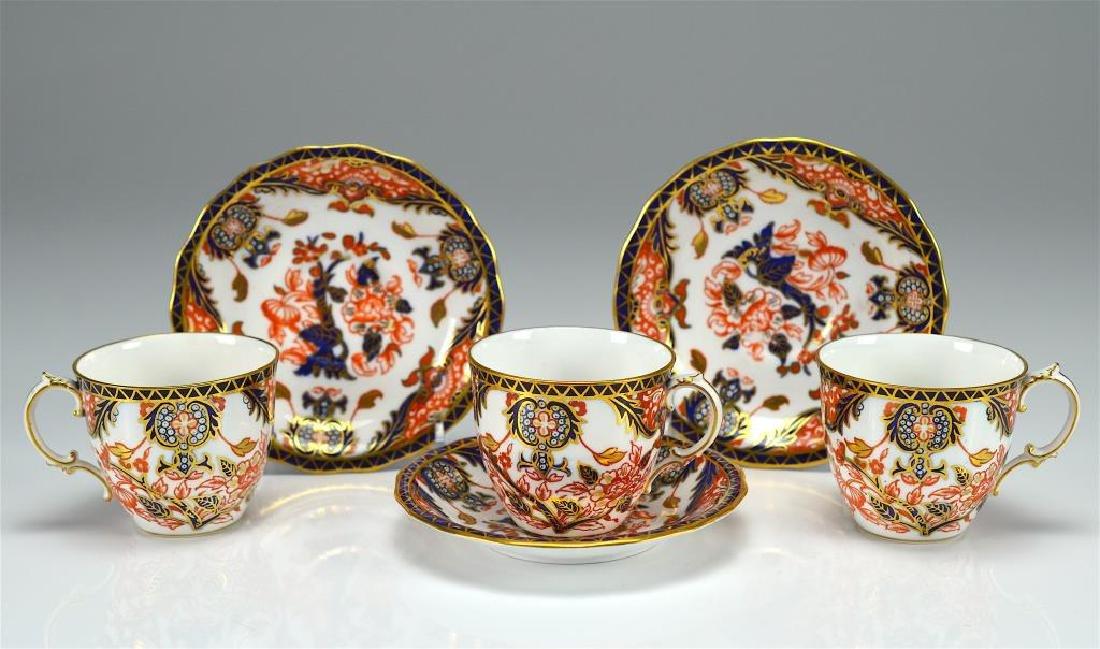 Royal Crown Derby Kings pattern part tea service - 4