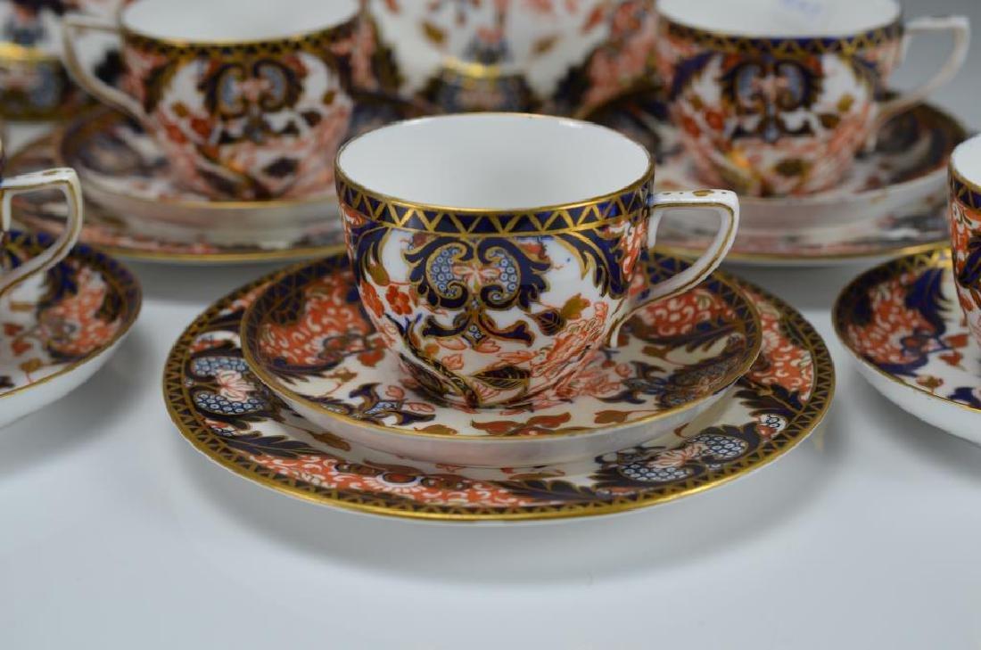 Royal Crown Derby Kings pattern part tea service - 5