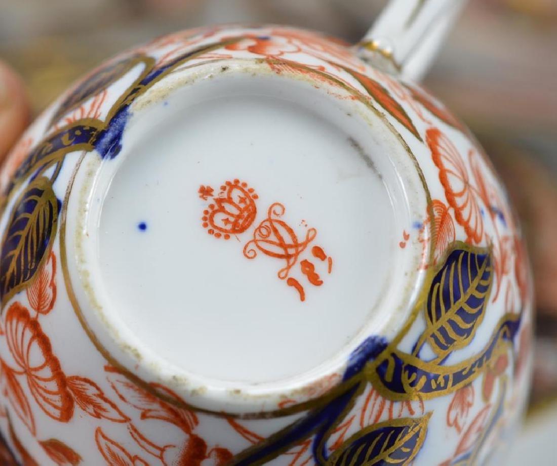 Royal Crown Derby Kings pattern part tea service - 6