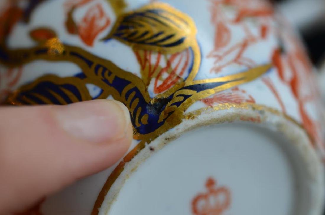 Royal Crown Derby Kings pattern part tea service - 7