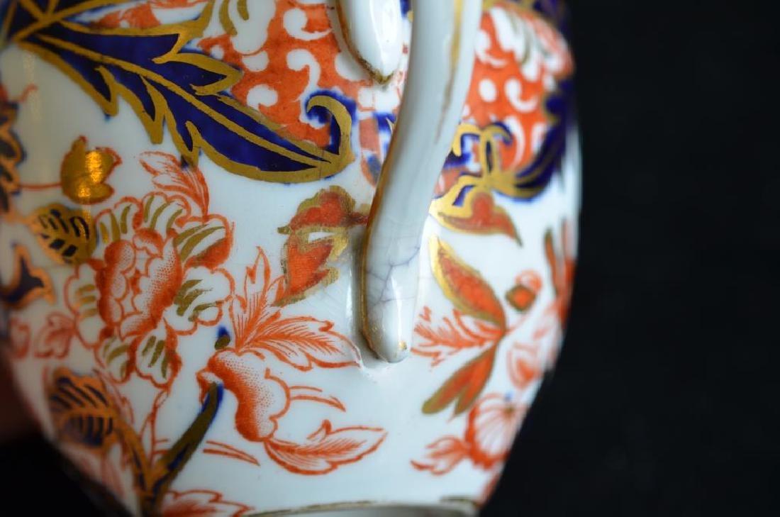 Royal Crown Derby Kings pattern part tea service - 8