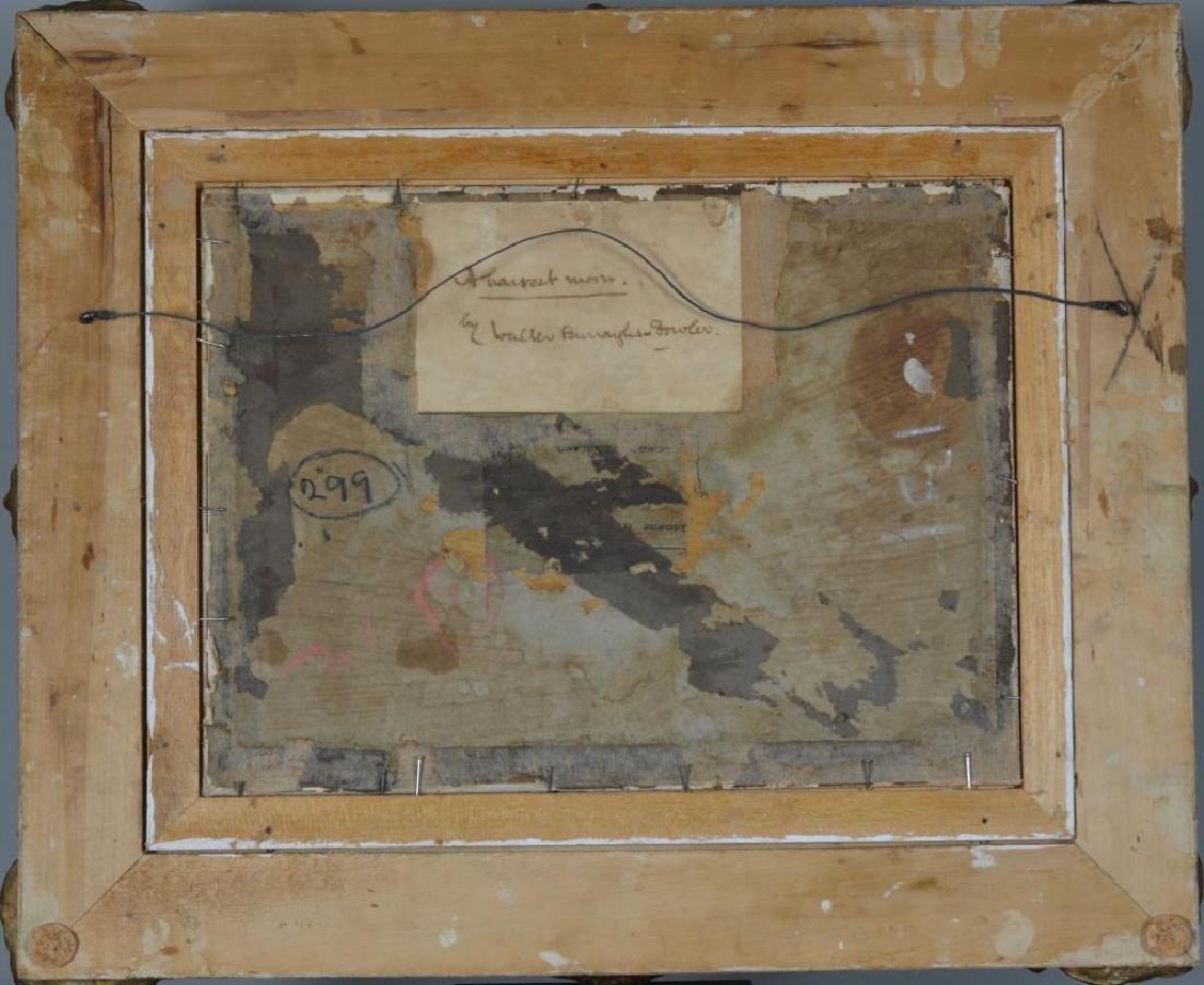 WALTER BURROUGHS-FOWLER (British, 1860-1930) - 2