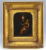 An early continental painting on copper