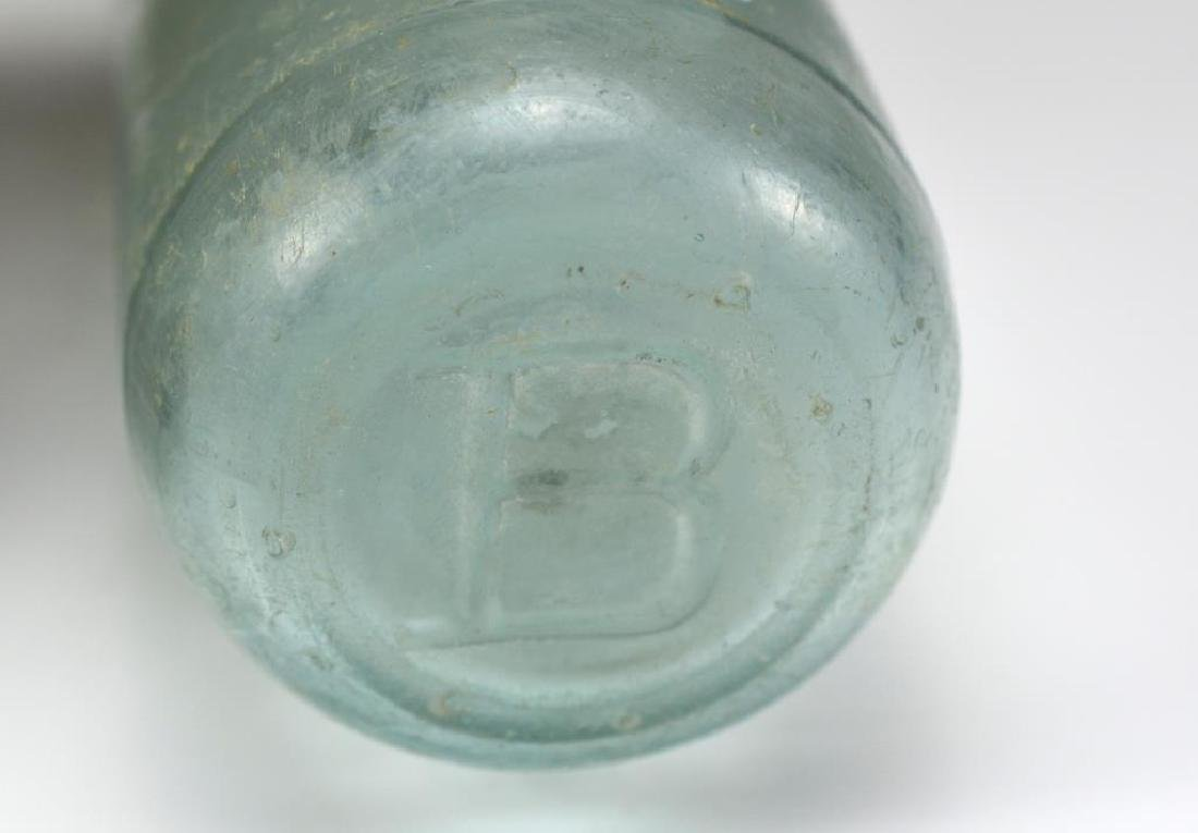 Two early Canadian glass soda bottles - 2