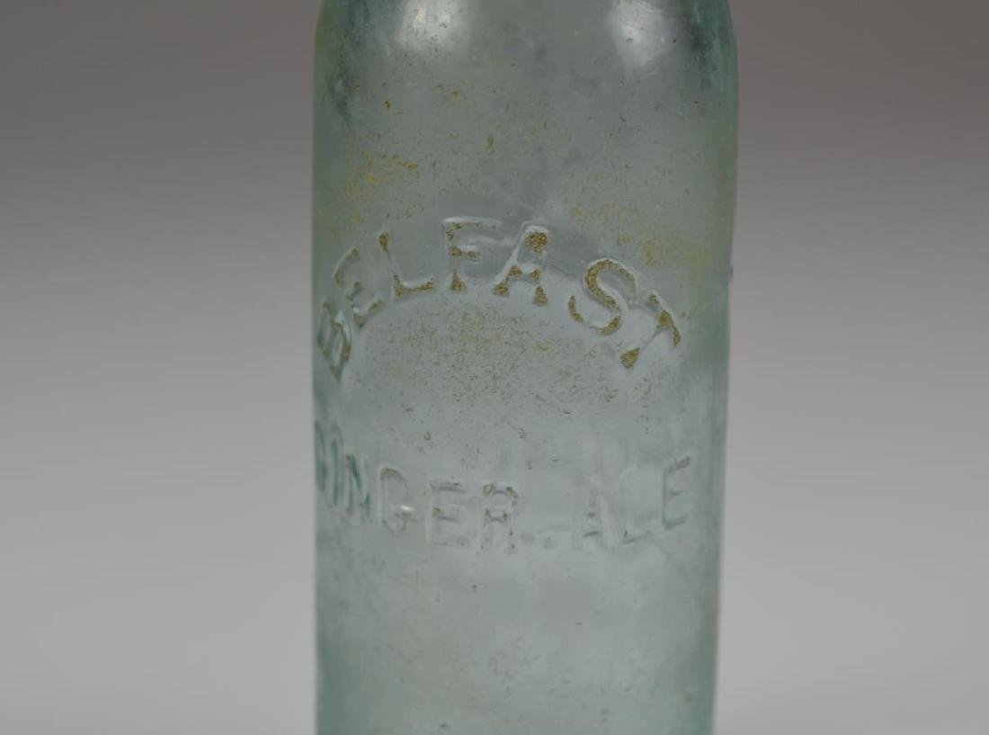 Two early Canadian glass soda bottles - 5