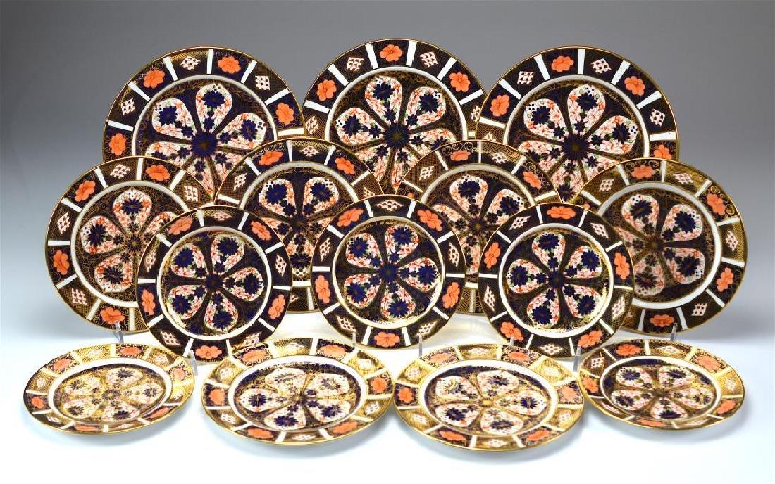 Royal Crown Derby Imari 1128 plates