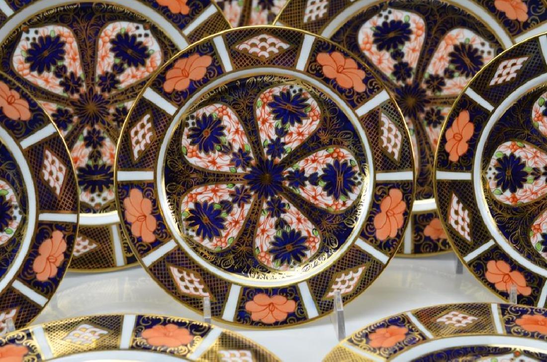Royal Crown Derby Imari 1128 plates - 3