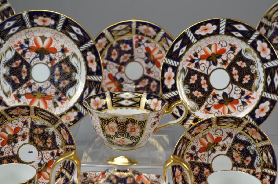 Royal Crown Derby Imari partial tea service - 2