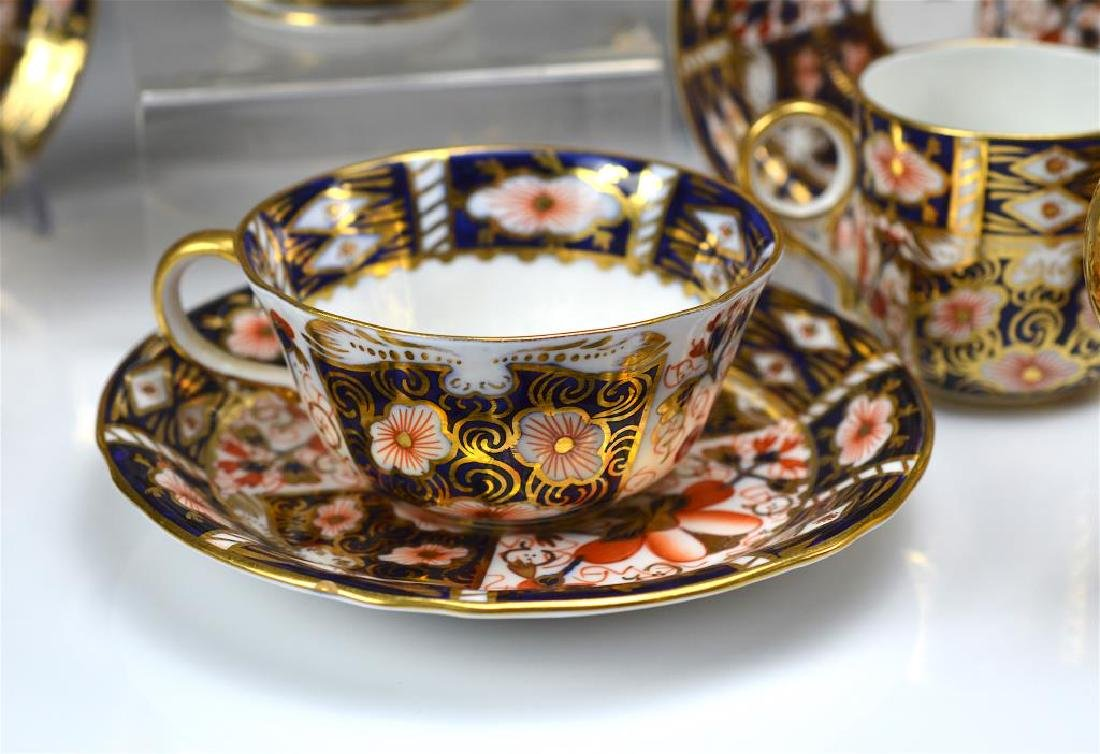 Royal Crown Derby Imari partial tea service - 3
