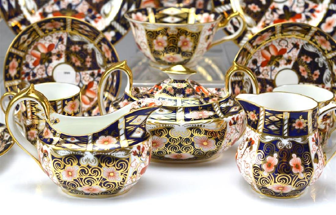 Royal Crown Derby Imari partial tea service - 4