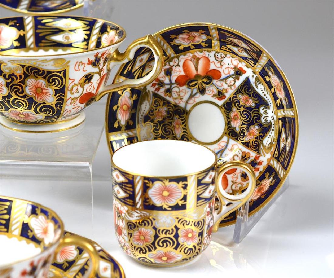 Royal Crown Derby Imari partial tea service - 5