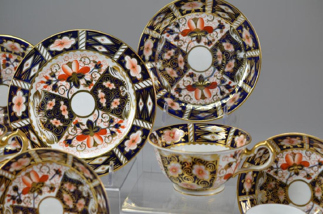 Royal Crown Derby Imari partial tea service - 6