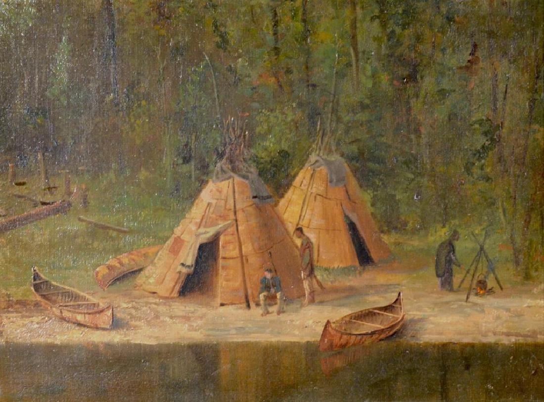 CANADIAN SCHOOL (19th C) - 2