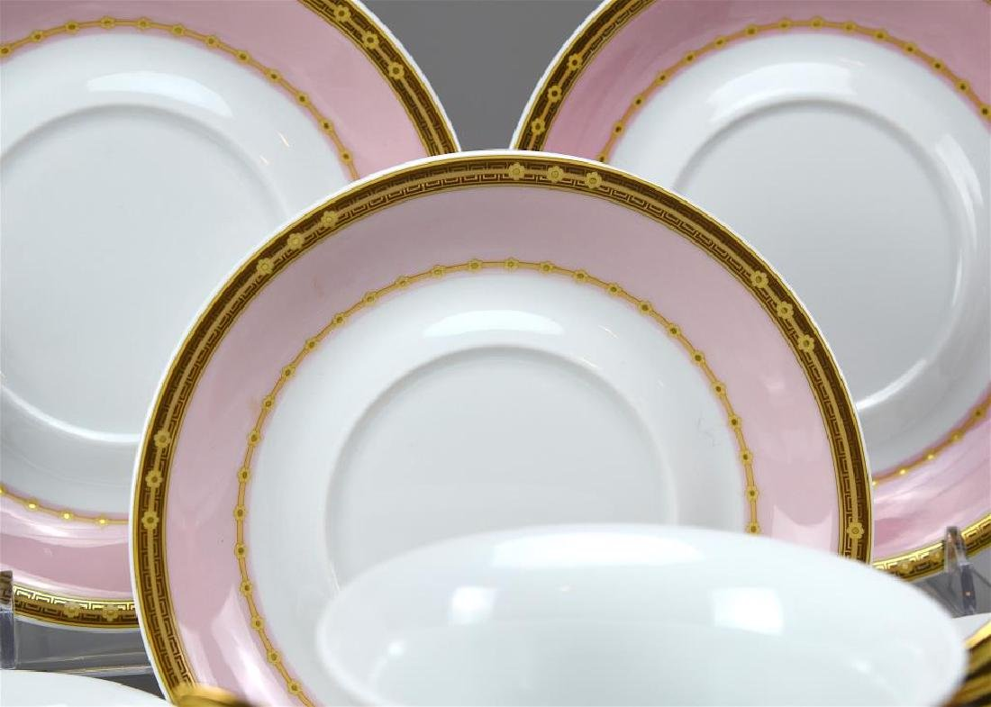 Rosenthal Versace seven soup bowls and saucers - 3