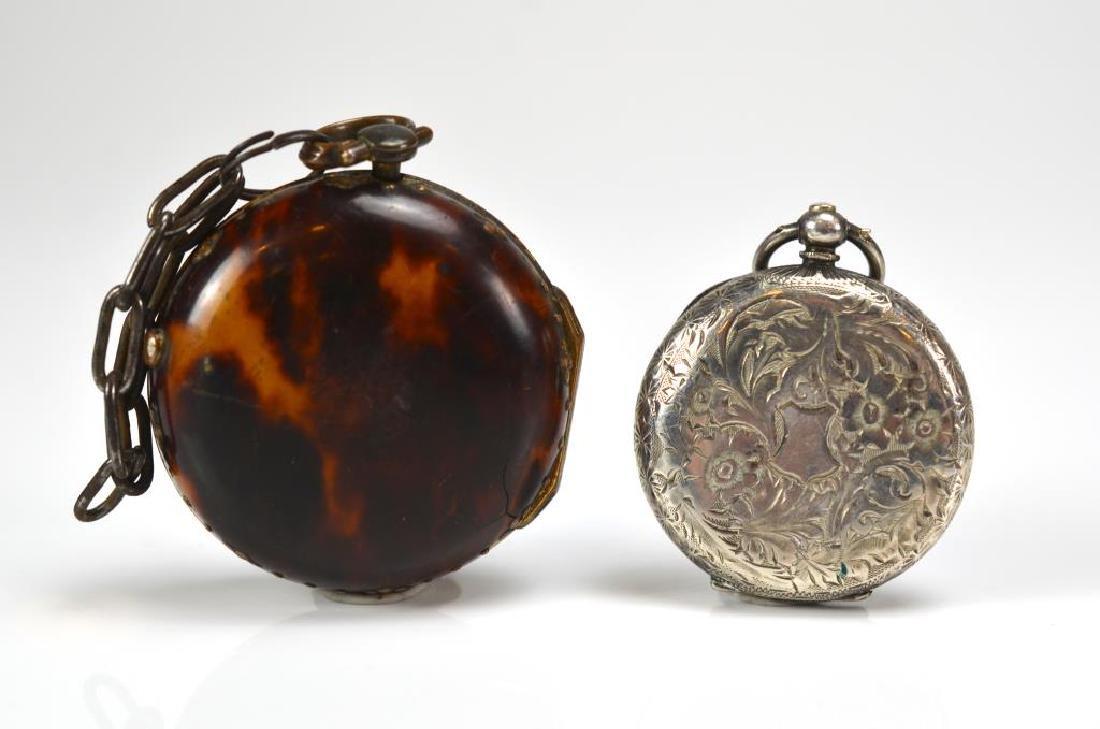 18th C English pair case pocket watch - 3