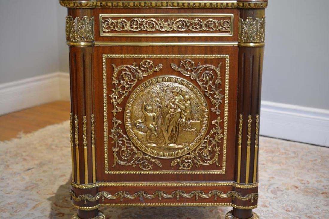 French Marble top buffet with bronze mounts - 3