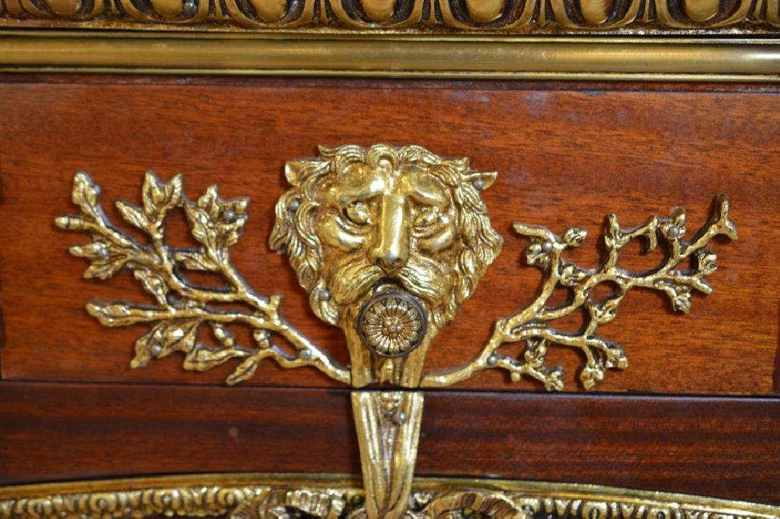 French Marble top buffet with bronze mounts - 5