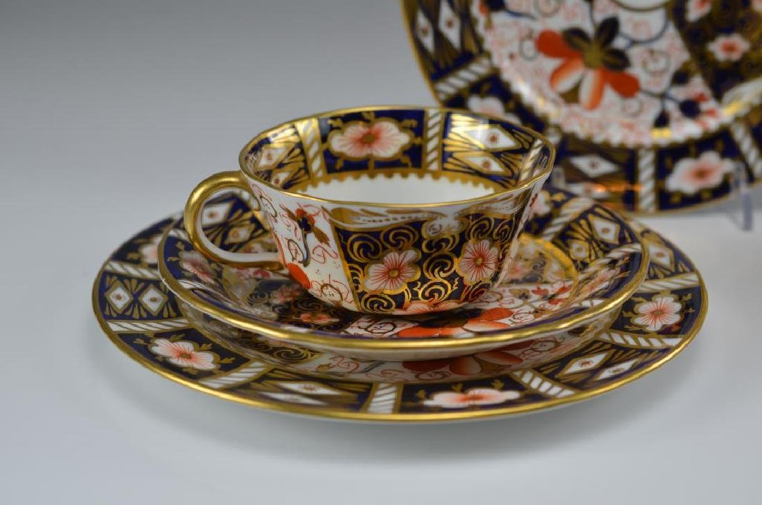 Two Royal Crown Derby Imari 2451 trios - 2